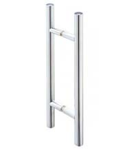 12 Inch Glass Door Ladder Pull, Pair, SDH-208H