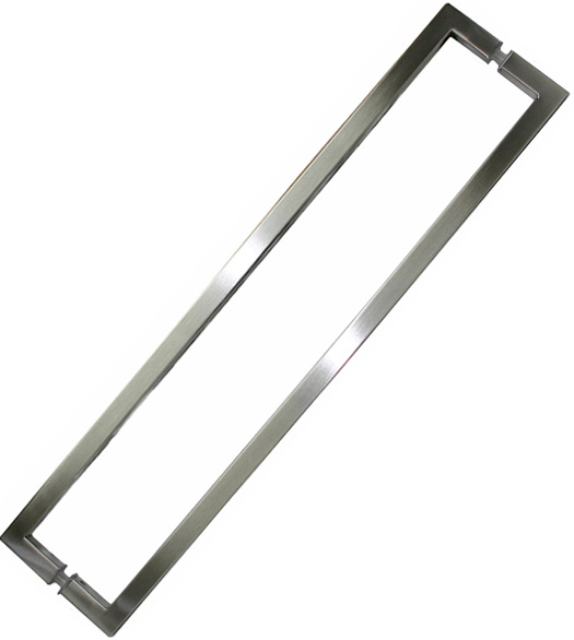 24 Inch Center To Center Square Shower Door Pull Sgs Sdq 024