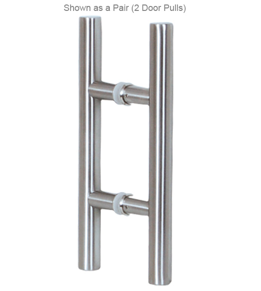 48 Inch Contemporary Stainless Door Pull