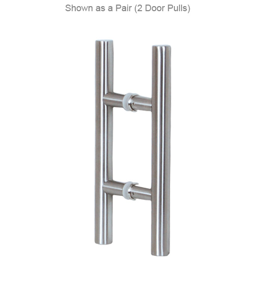 24 Inch Contemporary Stainless Door Pull