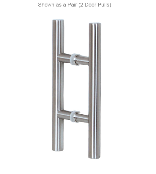 36 Inch Contemporary Stainless Steel Door Pull, AHI SIG405 914 630