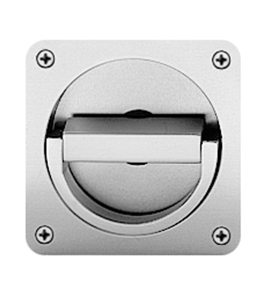 Satin Stainless Steel Flush Ring Pull AHI SIG719630 Doorwarecom
