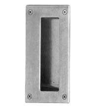Rectangular Satin Stainless Steel Flush Pull, AHI SIG720-630