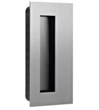 Stainless Steel Rectangular Flush Door Pull, AHI SIG776-630