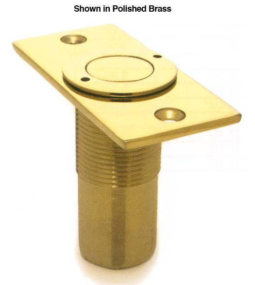 Dust Proof Solid Brass Door Bolt Strike Deltana Spdp278