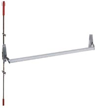42-inch or less Grade 2 Concealed Vertical Rod Door Exit Device DC-CVR