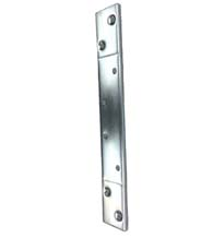 4-1/2 Inch Hinge Reinforcement Plate, Global TH1100-RP124D-2ZCP
