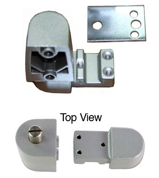 Kawneer Offset Door Pivots Top