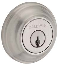 Traditional Round Rose Deadbolt, Baldwin TRD