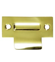 Solid Brass T-Strike for Roller Catch, Deltana TSRCA275