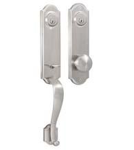 Delicieux Arched Mansion Double Cylinder Handleset, Weslock 6651/6602