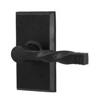 Monoghan Door Lever With Square Rose, Weslock 7305N