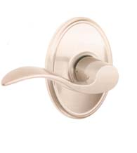 Accent Lever With Wakefield Rose, Schlage F-ACC-WKF