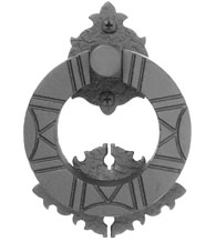 Aztec Iron Door Knocker, Acorn WMZBG