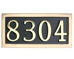 Address Number Plates