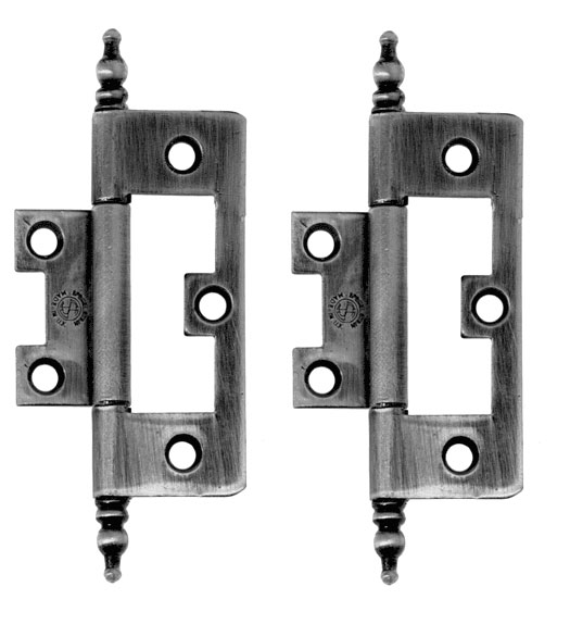 Semi Concealed Cabinet Hinge With Finial