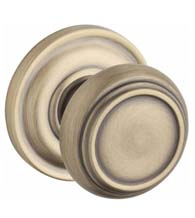 Traditional Door Knob Set, Baldwin TRA-TRR