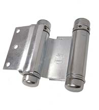 3 Inch Half Surface Double Acting Spring Hinge, Pair, Bommer 3023-3