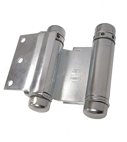 3 Inch Half Surface Double Acting Spring Hinge, Pair, Bommer 3023 3
