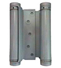 7 Inch Mortise Type Double Acting Spring Hinge, Pair, Bommer 3029-7