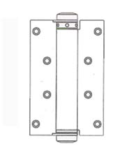 3 Inch Single Acting Spring Hinge, Pair, Bommer 4010-3