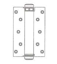 7 Inch Single Acting Spring Hinge, Pair, Bommer 4010-7