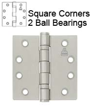 5 x 5 Ball Bearing Hinge, Bommer BB5000-500