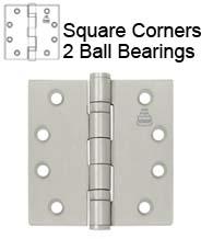 5 X 5 Ball Bearing Hinge Bommer Bb5000 500 Doorware Com