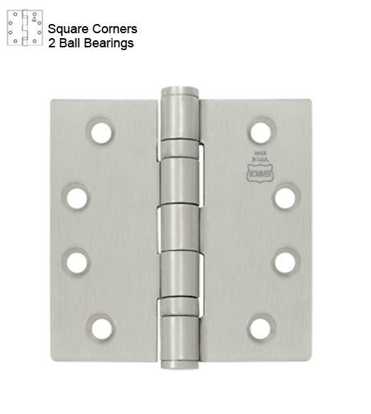 5 X 5 Ball Bearing Hinge Bommer Bb5000 500 Doorware Com
