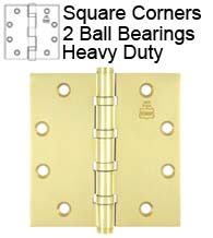 4-1/2 x 4-1/2 Heavy Duty Ball Bearing Hinge, Bommer BB5004-450