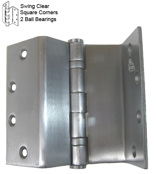 4-1  2 inch swing clear hinge  bommer bb5020-045r