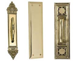 Decorative Door Pull and Push Plates