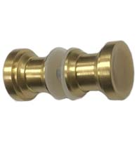 Chalice Shower Door Knob Pair, SD-CHALICE