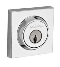 Contemporary Square Deadbolt, Baldwin CSD