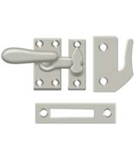 Solid Brass Large Window Lock Casement Fastener, Deltana CF66