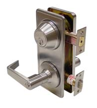 Interconnect Entry Lever and Deadbolt, Dorallock CL300ILC