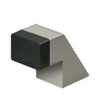 1-1/4 Inch Contemporary Floor Door Stop, Deltana FDB125