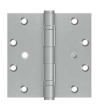 5 x 5 Ball Bearing Stainless Steel Hinge with Security Stud, Pair, Deltana SS55BB-SEC