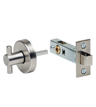 Stainless Steel Privacy Bolt, Omnia 6000