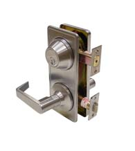 Grade 2 Interconnect Lever and Deadbolt, Dorallock CL300ILC