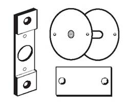 Door Latch Conversion and Filler Plates
