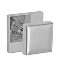 Stainless Steel Square Door Knob, Fusion 05-S7