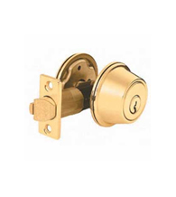 Gatelatch Single Cylinder Deadbolt, Kwikset 598