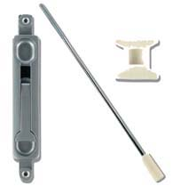 17 Inch Store Front Door Flush Bolt, Global TH1100-FB2