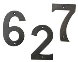 Hamilton House Numbers