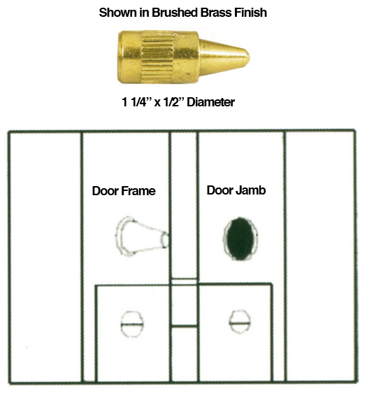 Security Door Hinge Pins
