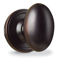 Traditional Julienne Egg Knob, Weslock 0605J