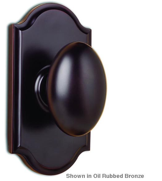 Julienne Egg Knob With Premiere Arched Rose