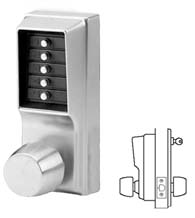 Simplex Keypad Entry Lock, KABA 1011