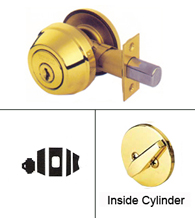 Grade 2 Single Cylinder Deadbolt Lock, Kwikset 780